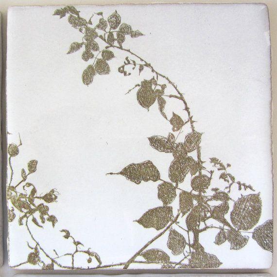 Tile - 'Rose Garden'