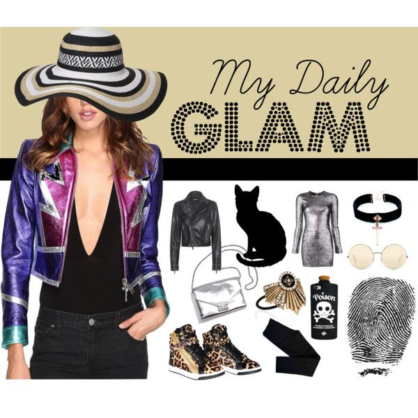 My Daily Glam by inogitnadesigns on Polyvore featuring RtA, Dsquared2, J Brand, Michael Kors, VSA, Dorothy Perkins, Chloe + Isabel, Victoria Beckham, FingerPrint Jewellry and Loeffler Randall