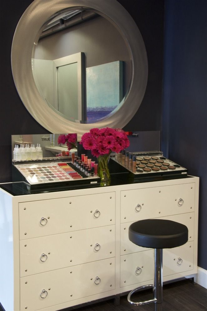 Indigo Salon - Kathy Ann Abell Interiors | San Diego | Salon Decor | Salon Design