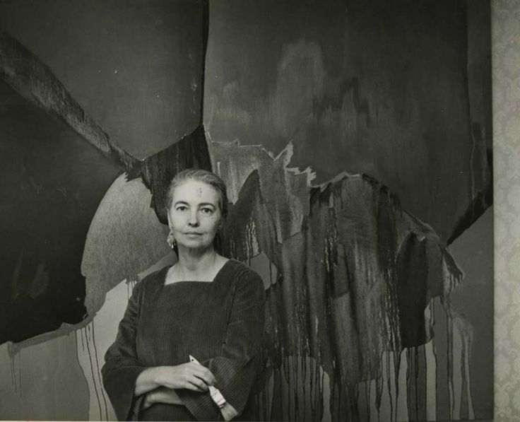 Dorothy Hood thrived in Mexico City, where her social circle included writers and artists. Photo: Houston Chronicle Photo