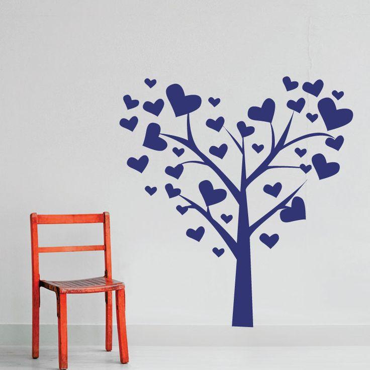 Διακοσμητικό Αυτοκόλλητο Τοίχου Houseart - Το δέντρο της αγάπης