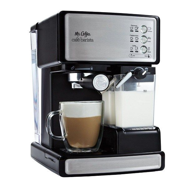 Any espresso machine with a mlik steamer. I need it in my life I can make lattes... don't judge me