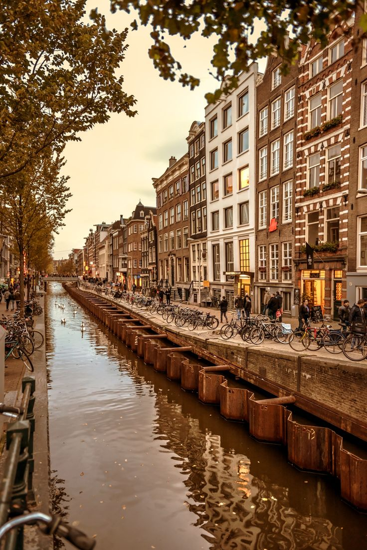 Autumn in Amsterdam - Holland