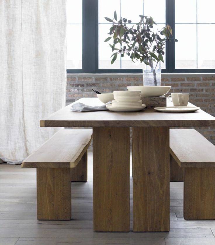 Dakota 77 dining table in dining tables crate and for Dining room tables crate and barrel