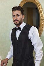Gilet Uomo Gessato divisa Cameriere Sala Bar Ristorante - Abiti da Lavoro