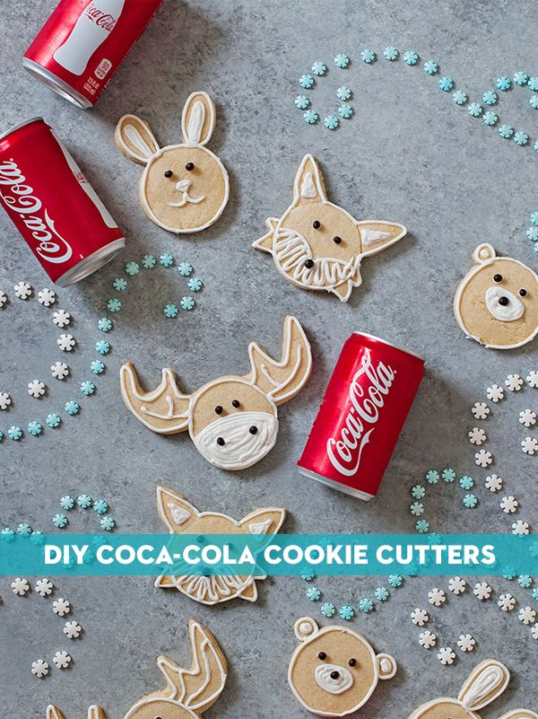 Create a whimsical winter scene on your holiday table with these DIY cookie cutters. Our partner Charlotte has all the details.