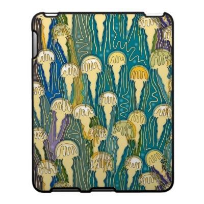blooming jellies ipad skin on zazzle