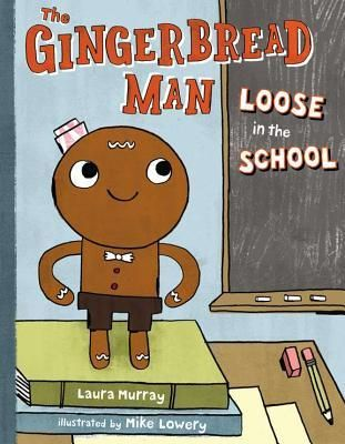 "When a class leaves for recess, their just-baked Gingerbread Man is left behind. But he's a smart cookie and heads out to find them. He'll run, slide, skip, and (after a mishap with a soccer ball) limp as fast as he can because: ""I can catch them! I'm their Gingerbread Man!""    With help from the gym teacher, the nurse, the art teacher and even the principal, the Gingerbread"