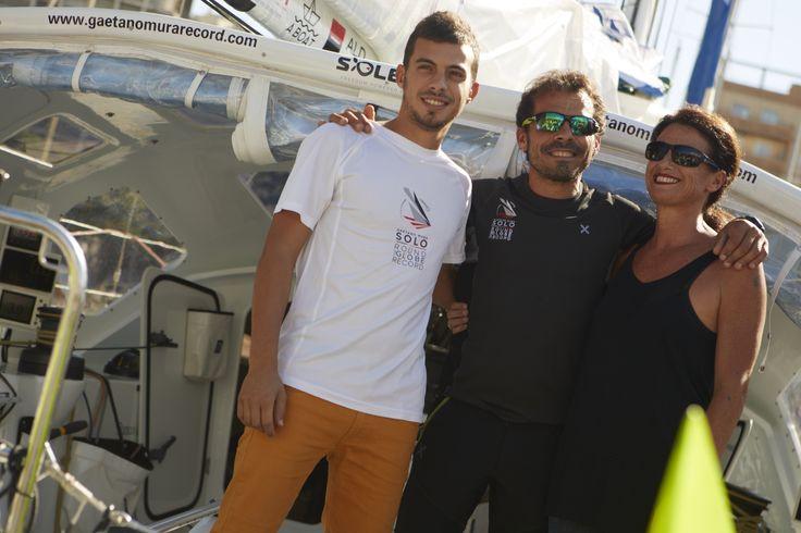 Gaetano con Carla (moglie) e Alessio (figlio)