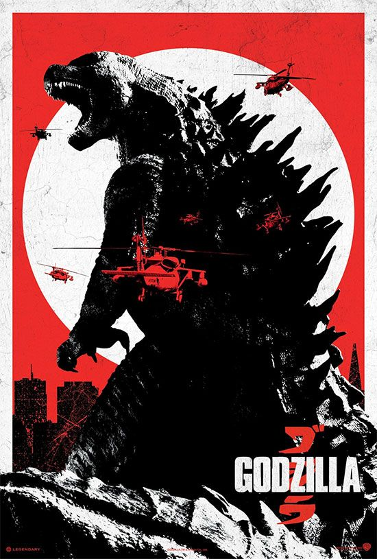 Godzilla (2014)... freakin' awesome movie