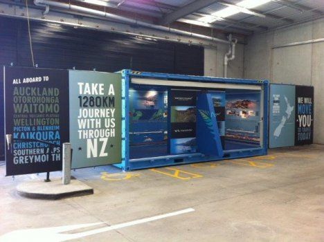Exhibition Stands Nz : Peek exhibition created four experiential interactive displays