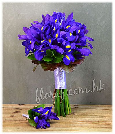 bridal bouqets with iris | , wedding flower, wedding flower bouquet, wedding florist hk, wedding ...