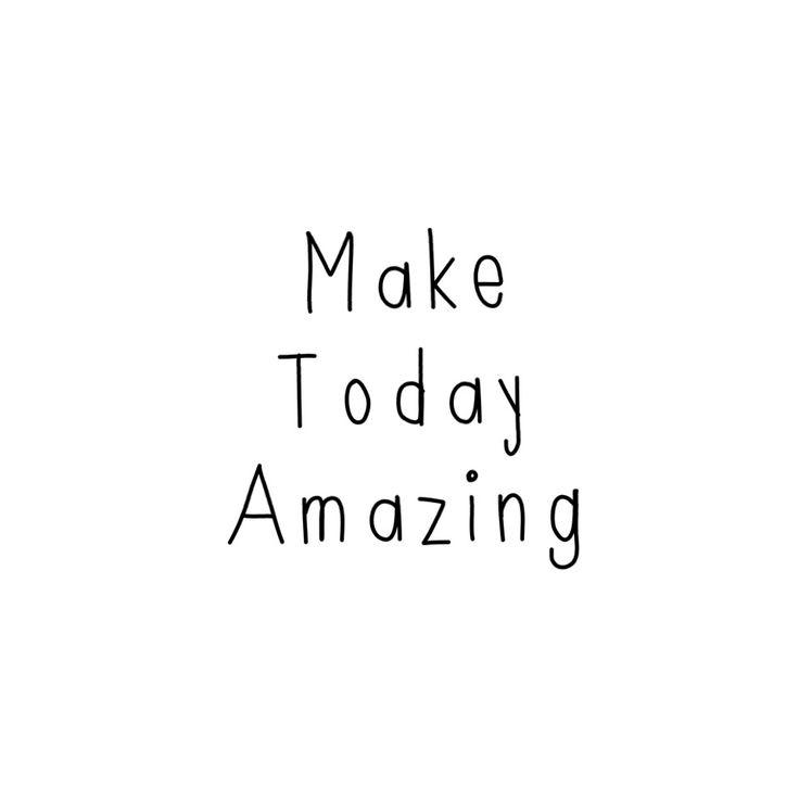 Everyday is amazing