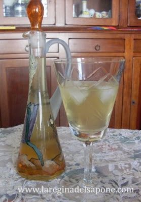 La Regina del Sapone: liquore al cocco