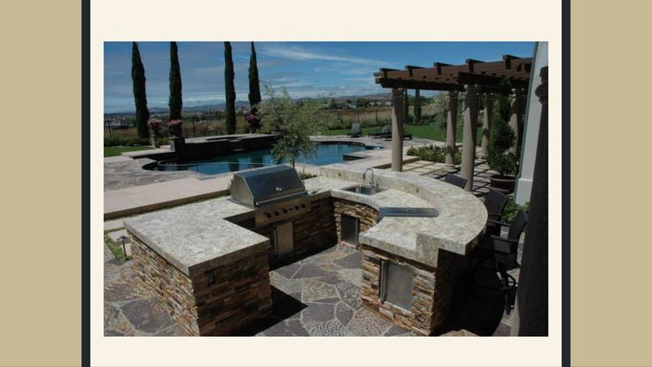 Outdoor Barbeque And Kitchen Landscape Design Construction Gallery :: AAA  Landscape Specialists
