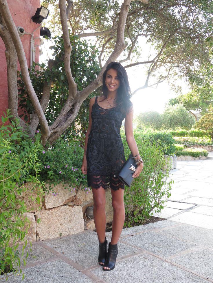 Chiara Biasi black-diamond