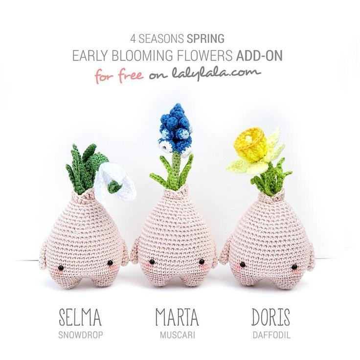 Mejores 9 imágenes de Crochet free patterns en Pinterest | Patrones ...