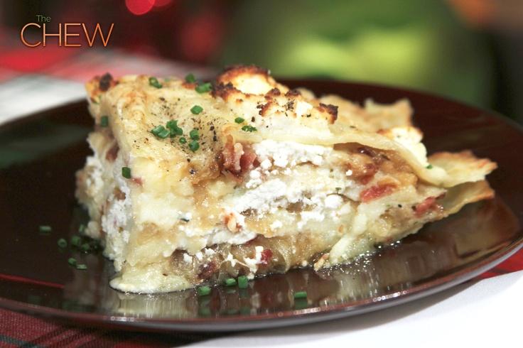 the chew | Recipe | Michael Symon's Pierogi Lasagna This was so