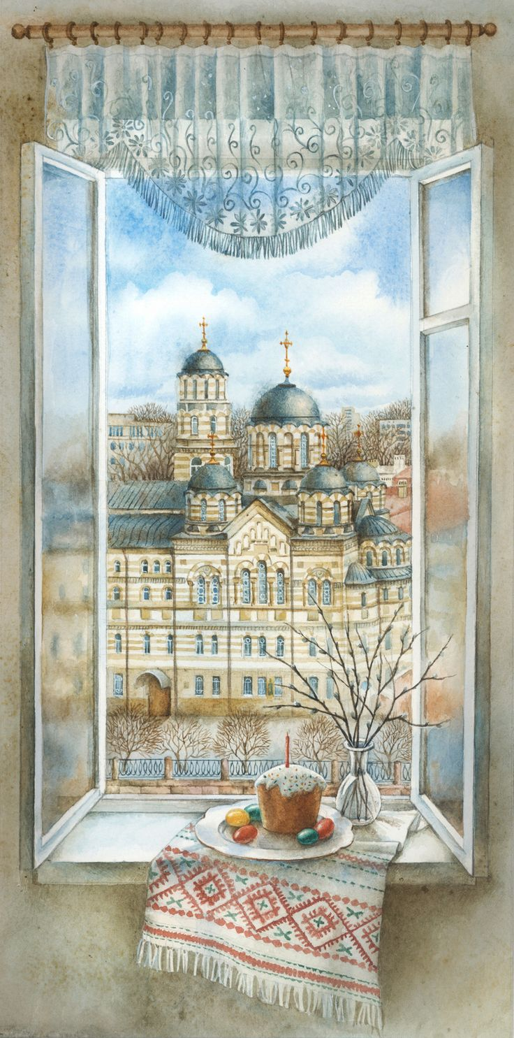 Галерея романтичной москвички (Gallery of romantic Muscovite) -  Easter - Kseniya Shaphranovskaya