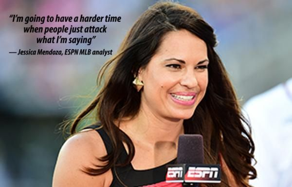 How Jessica Mendoza ignored sexism and broke barriers in baseball.