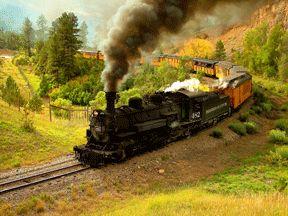 silverton in the fall | Durango & Silverton Train, Colorado 2005 Thomas I. Morse