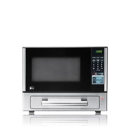 Combination Countertop Microwave Baking Drawer With Watt Oven Auto Pizza Feature 4 Cook Options Child Lockout And Led