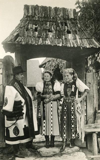 Bánffyhunyadi magyar népviselet - Erdély
