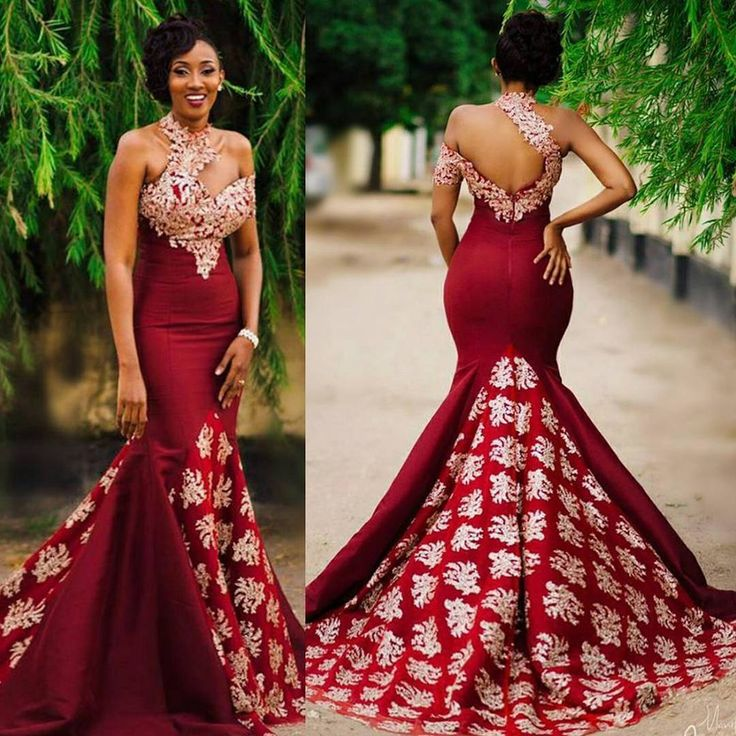 Wow...this is simply a definition of elegance ❤ Glamorous dress by @elisha.red.label #WDNglam #WeddingDigestNaija