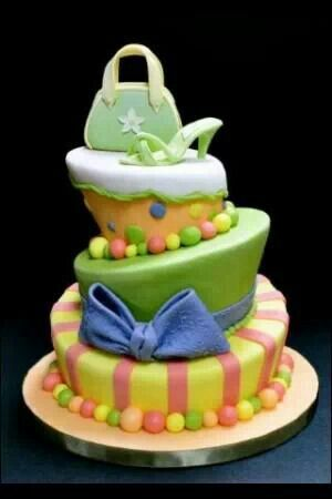 Cake Boss Multicolor Topsy Turvy Cake