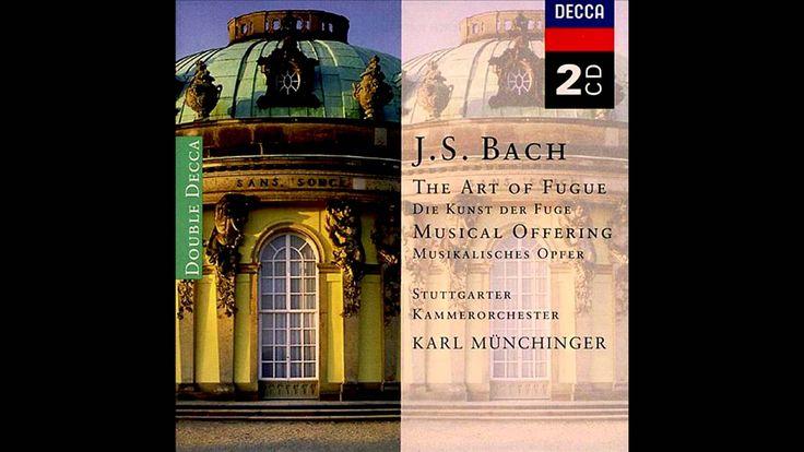J.S.Bach: Musical Offering BWV 1079 16. Ricercar a 6 [Munchinger]