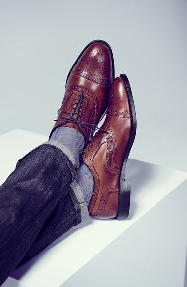 Allen Edmonds 'Strand' Oxford (Men) | Nordstrom | Bourbon