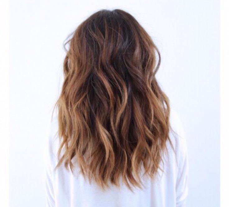 ... on Pinterest | Balayage, Caramel Balayage Highlights and Brown Hair