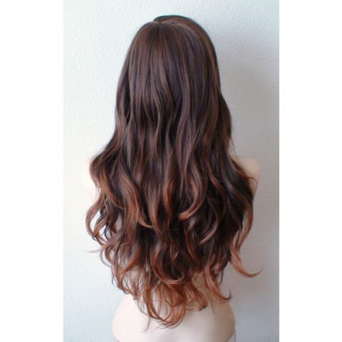 long layered v cut hairstyles - Google Search
