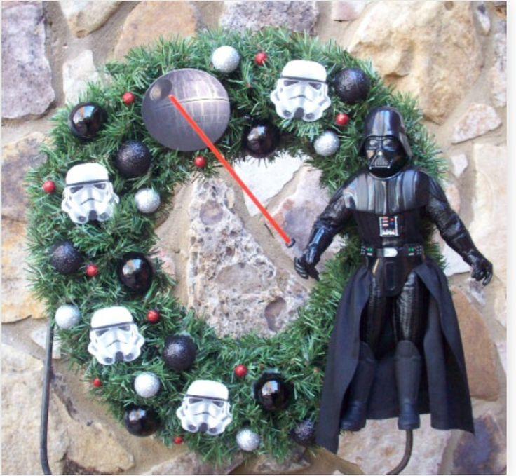 Star Wars wreath