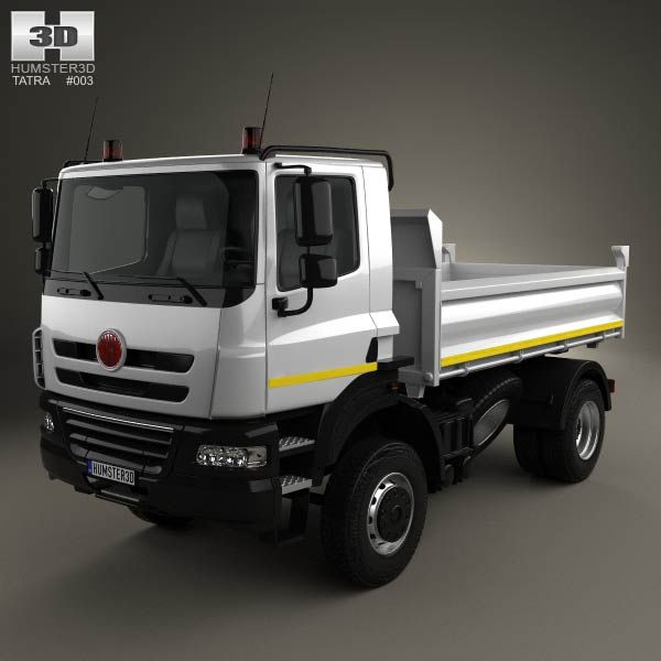 Tatra Phoenix Tipper Truck 2011 3d model from humster3d.com. Price: $75