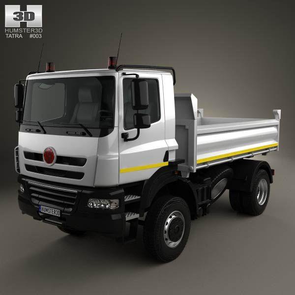 Tatra Phoenix Tipper Truck 2011 3d model from humster3d.com. Price: $75