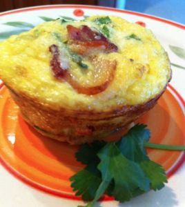 Easy Breakfast Omelet Muffin Recipe