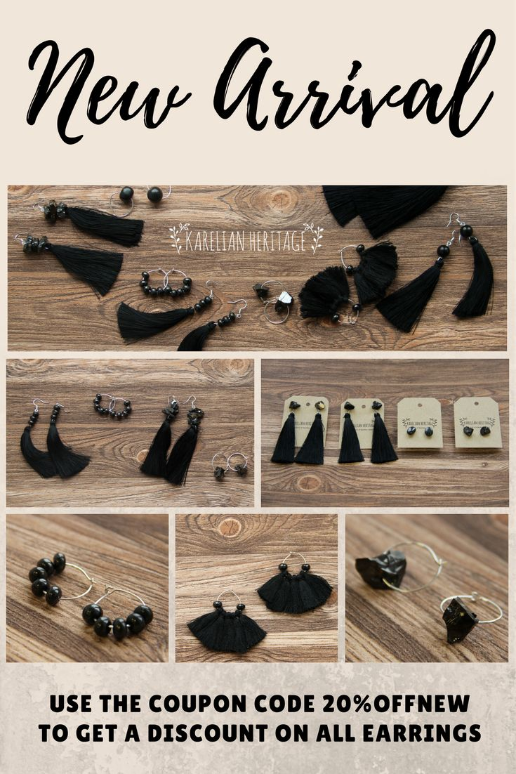 We are endlessly happy to introduce to you brand-new line of shungite earrings! 🌟 The earrings are handcrafted by us with love and care with only safe materials used!  ✨ Use our special coupon code 20%OFFNEW to get a discount on all earrings!  Affordable prices, worldwide shipping! 🆒 Follow the link and find your perfect shungite earrings! 🌟 Hurry up, the offer is valid only for 10 days! #shungitesale #shungitejewelry #crystalgift #KarelianHeritage