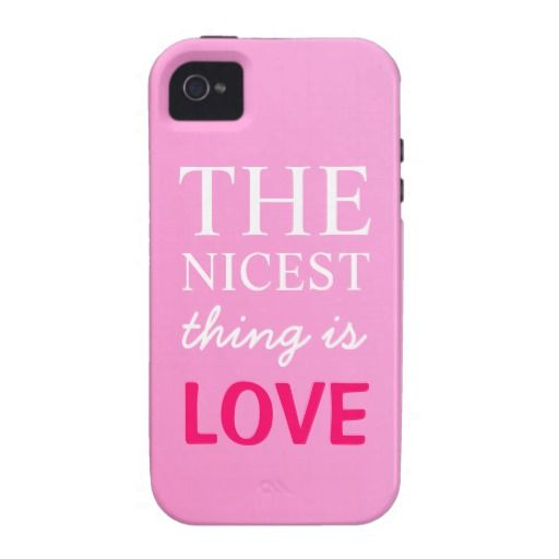 The Nicest Thing Is Love iPhone 4/4S Case