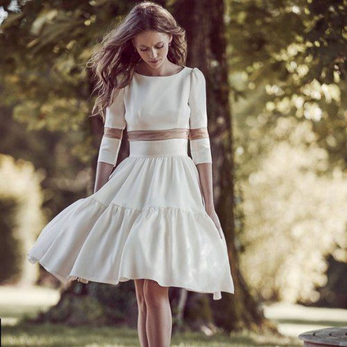 urbano della scala beach wedding dress