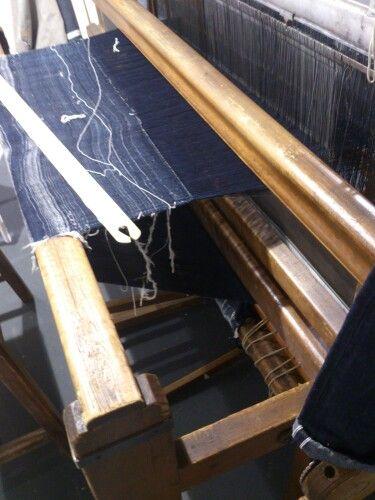 Artisan loom Blue selvadge. IMjiT35020Manufactus.