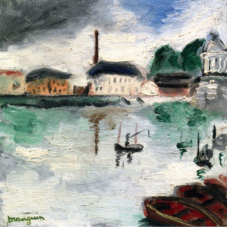 L-Ile de la Grande Jatte, by  Henri Manguin