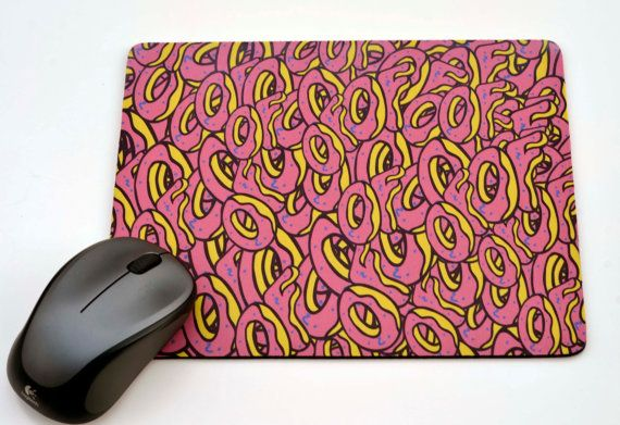Odd Future   Doughnuts OFWGKTA Mousepad / by EclipseGiftideas