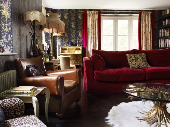Pearl Lowe sitting room - she has such great taste!
