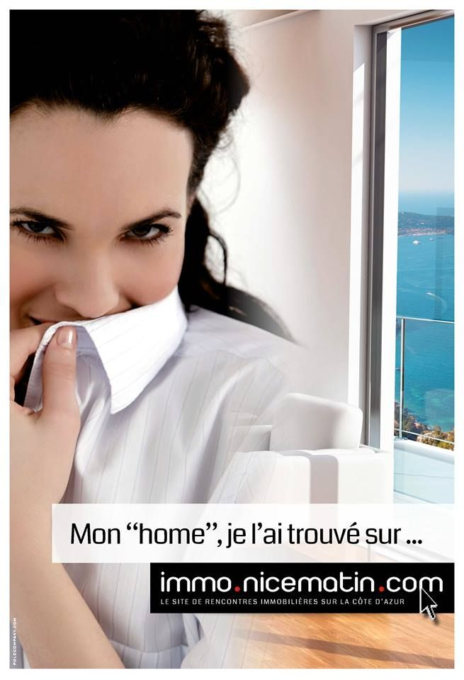 Affiche pour Nice Matin Immo, 2014