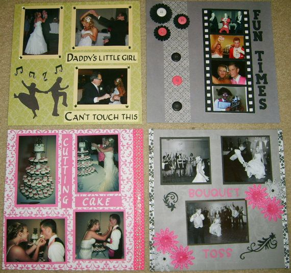 12x12 Premade Wedding Scrapbook  Wedding Album  Wedding Picture Keepsake   via Etsy 22 best Wedding Scrapbook images on Pinterest   Scrapbook wedding  . Premade Wedding Scrapbook. Home Design Ideas