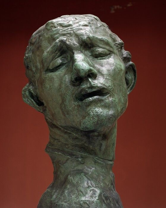 Head of Pierre de Wissant / Auguste Rodin / c. 1908 / bronze