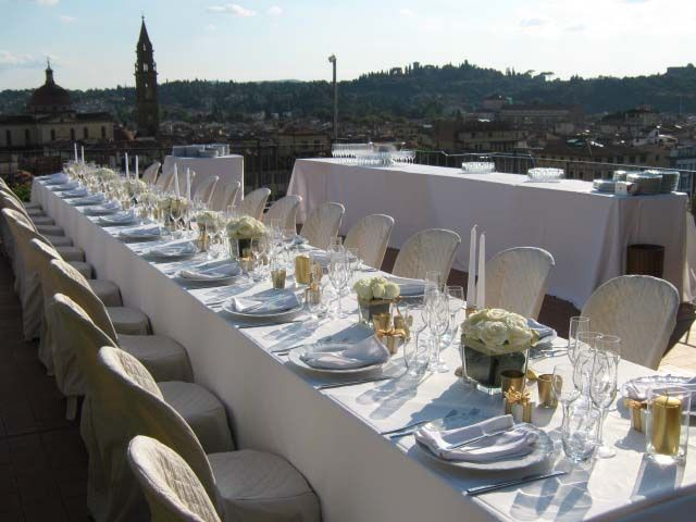 Wedding Dinner in Florence