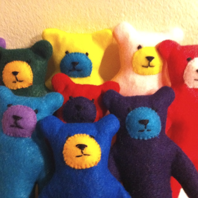 Felt Teddy Bears
