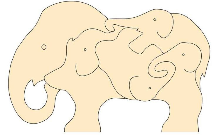 scroll saw patterns farm animals puzzles | Found on woodworkersinstitute.com